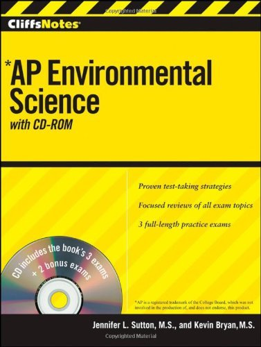 CliffsNotes AP Environmental Science, with CD-ROM (Cliffs AP)