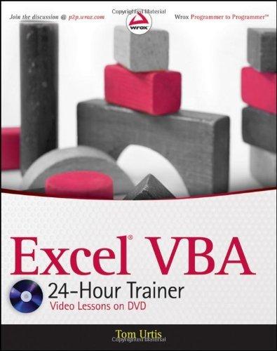 Excel VBA 24-Hour Trainer (Wrox Programmer to Programmer)