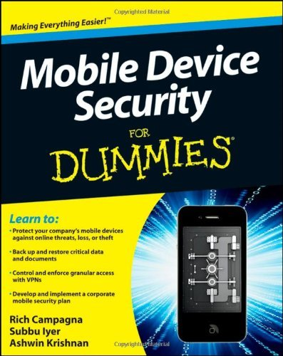 Mobile Device Security For Dummies (For Dummies (Math & Science))