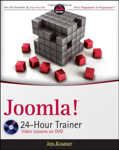 Joomla! 24-Hour Trainer (Video Lessons on DVD)