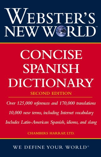 Webster's New World Concise Spanish Dictionary (2nd Edition)
