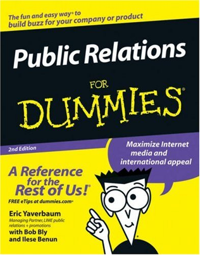 Public Relations for Dummies (2nd Edition)