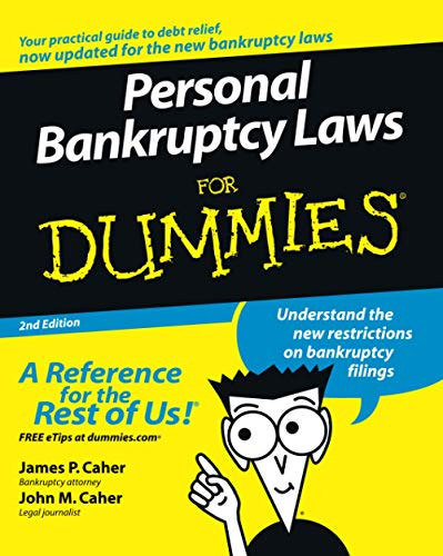 Personal Bankruptcy Laws for Dummies (2nd Edition)