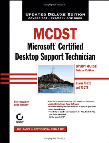 McDst: Microsoft Certified Desktop Support Technician with CDROM