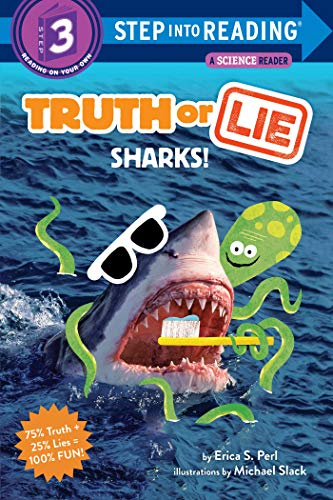 Truth or Lie: Sharks! (Step into Reading, Step 3)