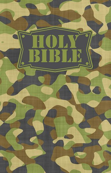 NKJV Camouflage Children's Holy Bible