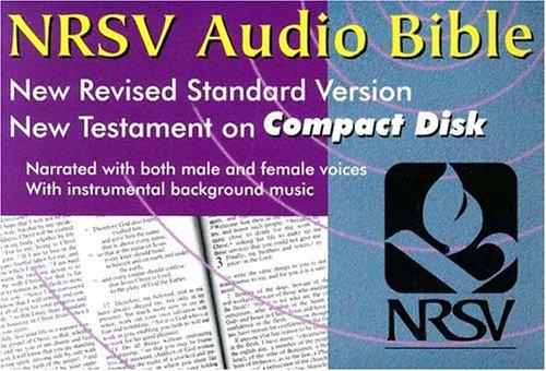 NRSV Audio Bible: New Testament (WBCD-80, Unabridged, Black Zippered Carry Case)