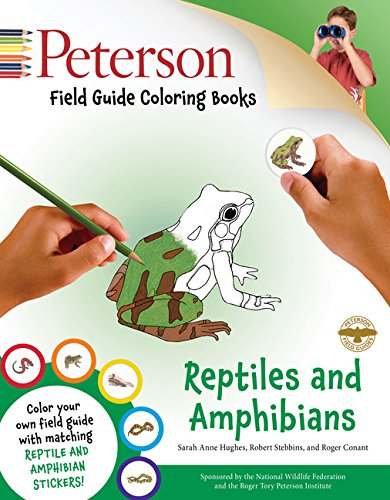 Reptiles and Amphibians (Peterson Field Guide Coloring Book)
