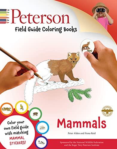 Mammals (Peterson Field Guide Coloring Books)
