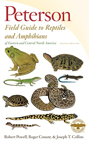 Peterson Field Guide to Reptiles and Amphibians of Eastern and Central North America (Fouth Edition)