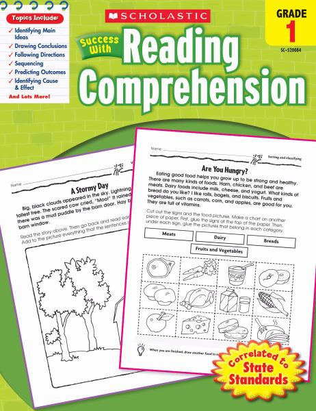 Success with Reading Comprehension (Grade 1)