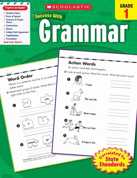 Success with Grammar (Grade 1)