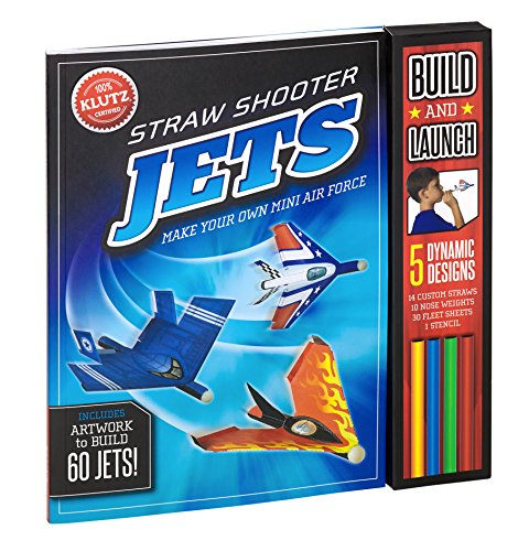 Jets: Make Your Own Mini Air Force (Straw Shooter)