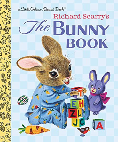 The Bunny Book (Little Golden Board Book)