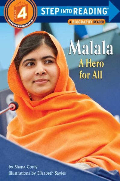 Malala: A Hero for All (Step into Reading, Level 4)
