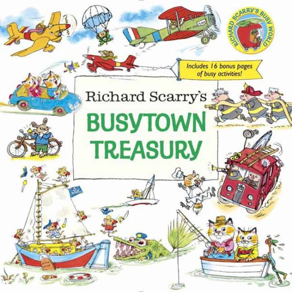 Richard Scarry's Busytown Treasury (Richard Scarry's Busy World)