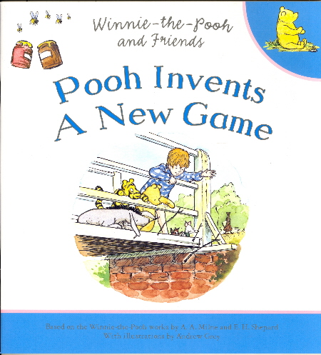 Pooh Invents a New Game (Winnie-The-Pooh and Friends)