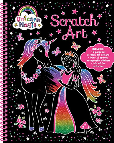 Unicorn Magic Scratch Art