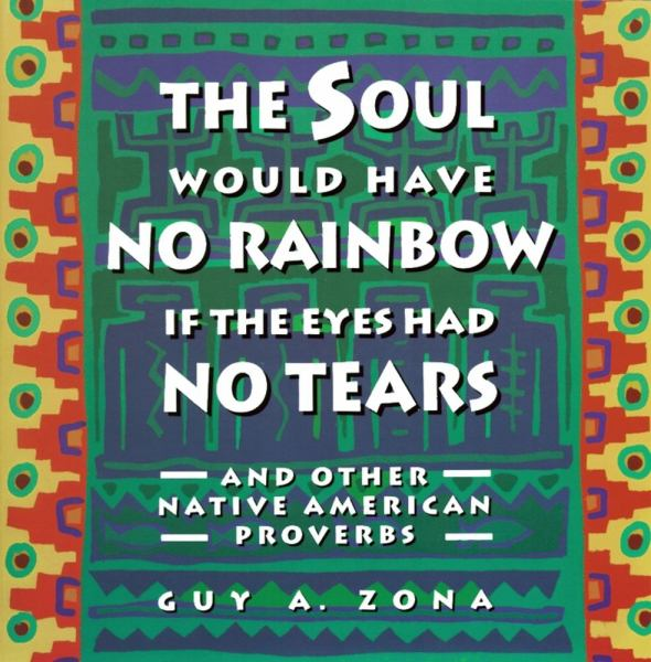 The Soul Would Have No Rainbow If the Eyes Had No Tears