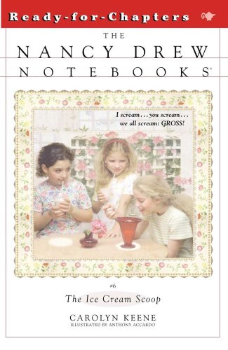 The Ice Cream Scoop (The Nancy Drew Note Books, Bk. 6)