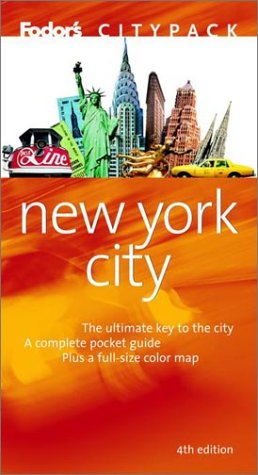 New York City (Fodor's Citypack, 4th Edition)