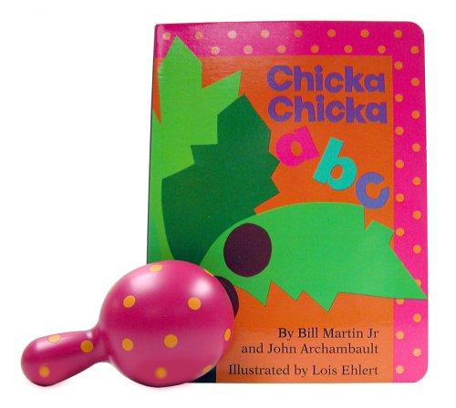 Chicka Chicka ABC Board Book & Rattle