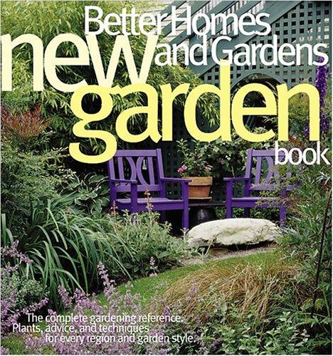 Better Homes and Gardens New Garden Book