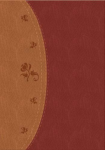 Woman's Study Bible, 2nd Edition (NKJV, 1923A, Thumb Indexed, Burgundy/Brown LeatherSoft, Gilded-Gold Page Edges)