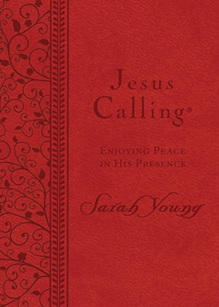 Jesus Calling: Enjoying Peace in His Presence (Red)