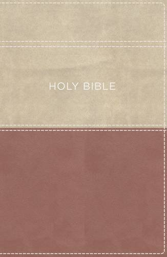 KVJ Apply the Word Study Bible (2113B, Large Print, Dusty Rose/Cream Leathersoft)