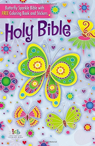 Butterfly Sparkle Bible (International Children's Bible)