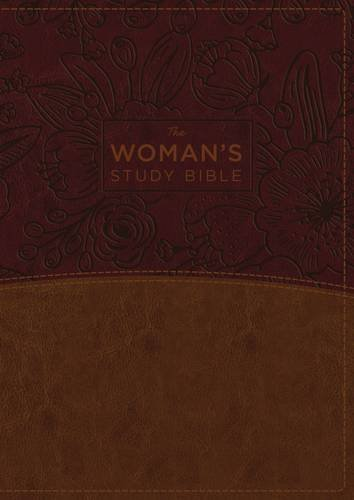 NKJV The Woman's Study Bible (Brown/Burgundy Leathersoft, Thumb Indexed)