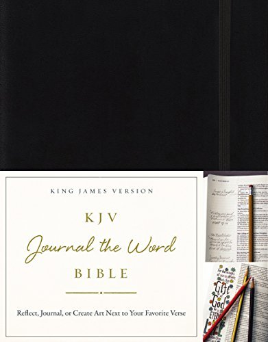 KJV Journal the Word Bible (Black)