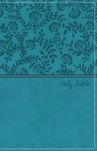 KJV Deluxe Gift Bible (Teal Imitation Leather)