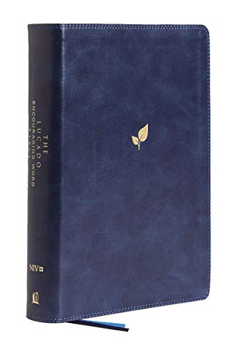 NIV The Lucado Encouraging Word Bible (9563BL, Blue Leathersoft)