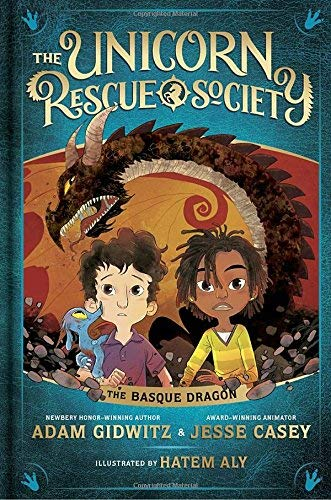 The Basque Dragon (Unicorn Rescue Society, Bk.2)