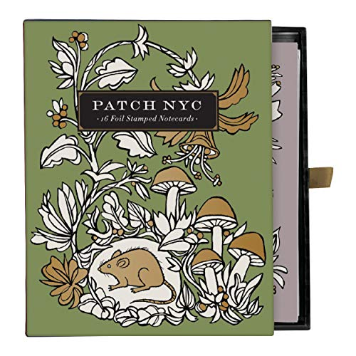 Patch NYC Foil Stamped Notecards