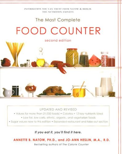 The Most Complete Food Counter (2nd Edition)