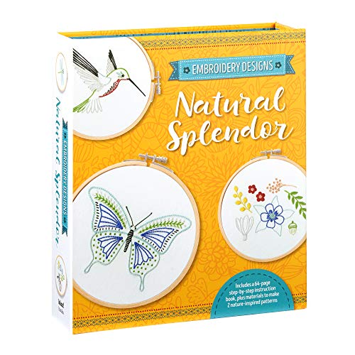 Natural Splendor (Embroidery Designs)