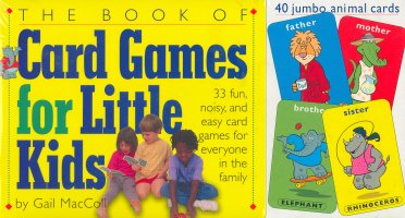The Book of Card Games for Little Kids (with Cards)