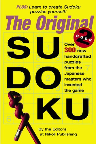 The Original Sudoku (Book 2)