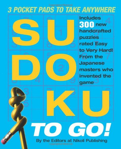 Sudoku to Go!: 3 Pocket Pads to Take Anywhere