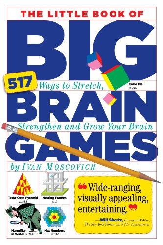 The Little Book of Big Brain Games: 517 Ways to Stretch, Strengthen and Grow Your Brain