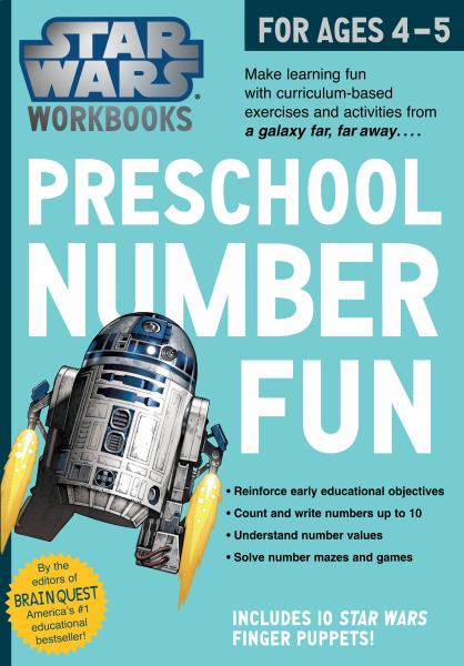 Preschool Number Fun (Star Wars Workbooks)