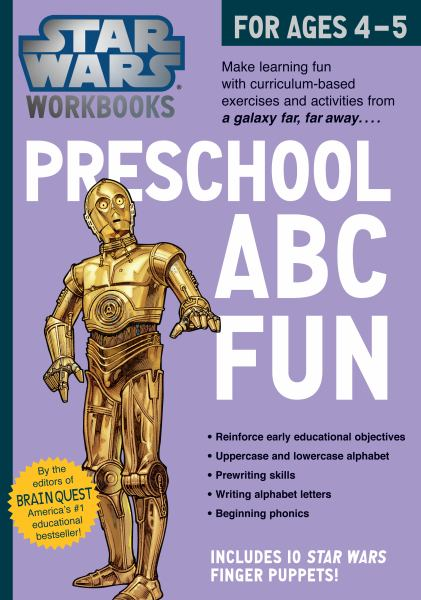 Preschool ABC Fun (Star Wars Workbooks)