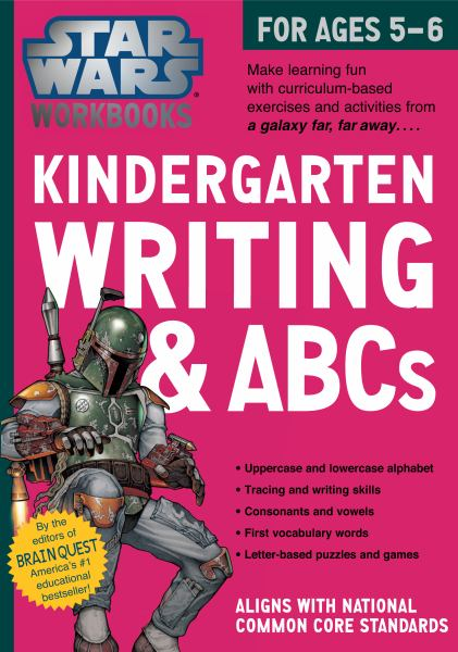 Kindergarten Writing & ABCs (Star Wars Workbook)