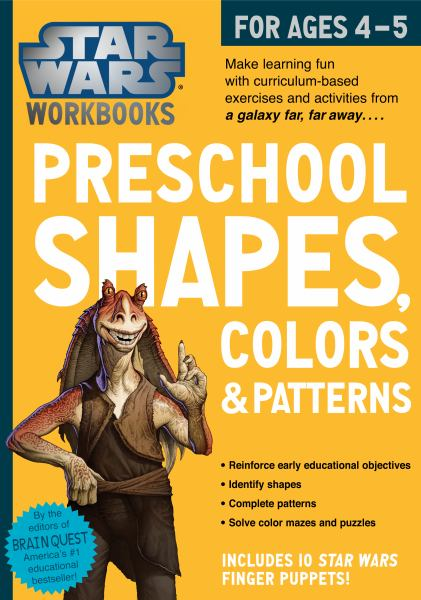Preschool Shapes, Colors & Patterns (Star Wars Workbook)