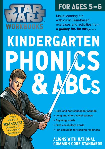 Star Wars Workbook, Kindergarten Phonics and ABCs