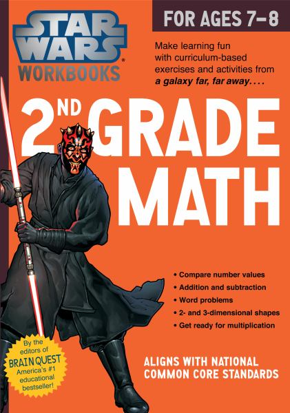 Star Wars Workbook, 2nd Grade Math