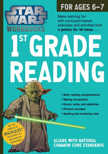 1st Grade Reading (Star Wars Workbook)